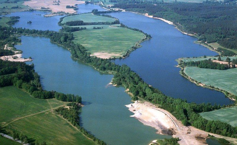 Insieme di laghi Repubblica Ceca