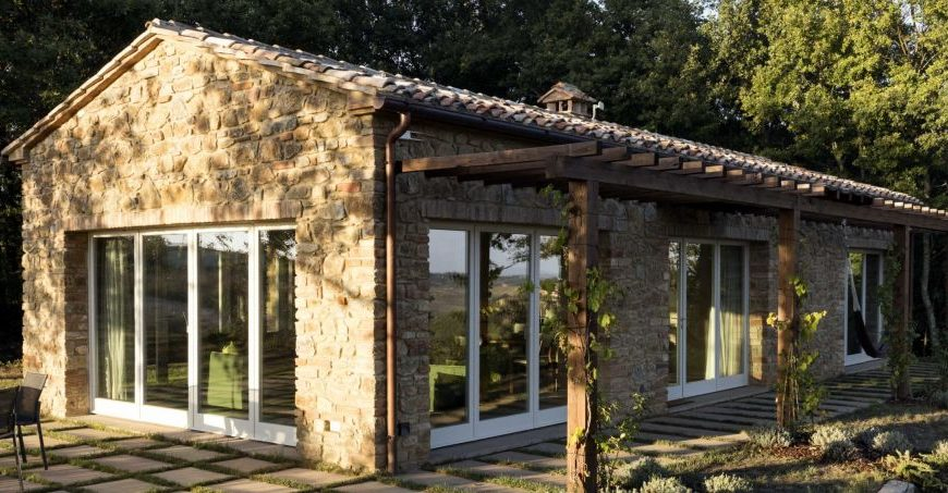 Cottage eco-chic in Toscana