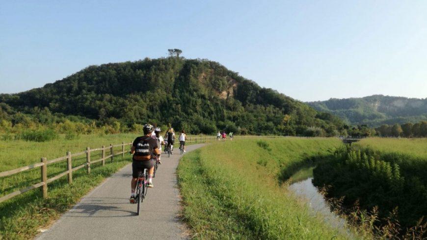 itinerario in bici vicino a Padova