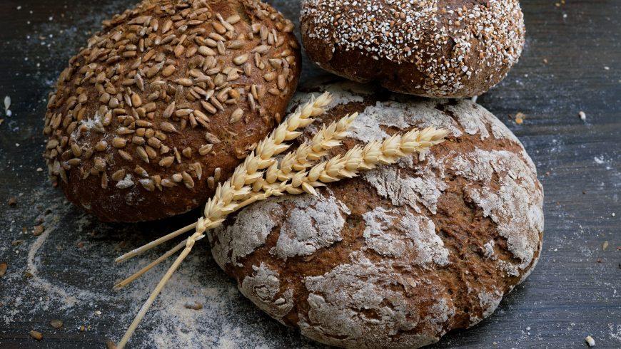 Pane ai cereali con glutine