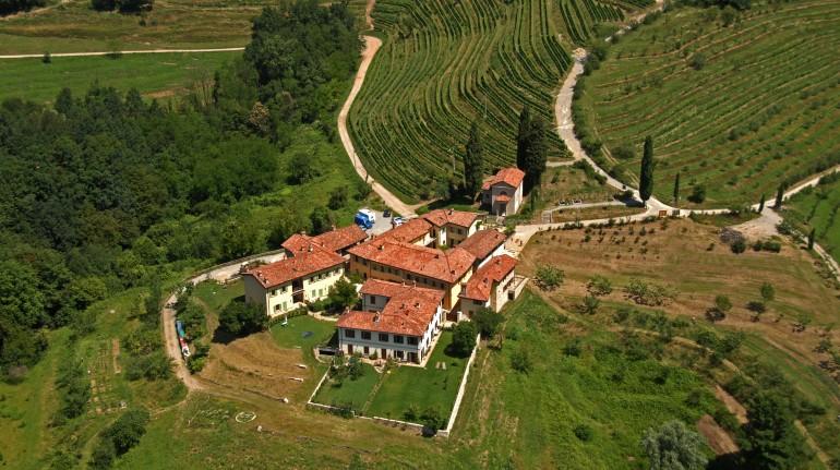Vista dall'alto del borgo leccese