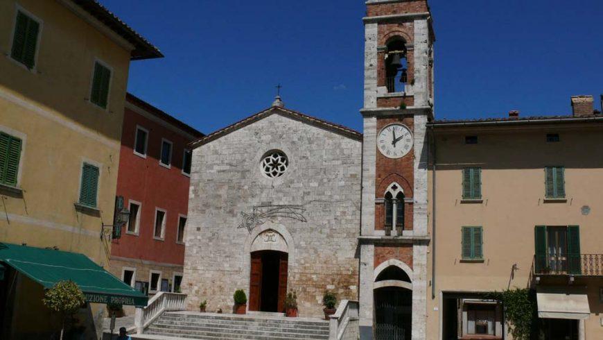 Chiesa di san Francesco in stile gotico, a San Quirico d'Orcia