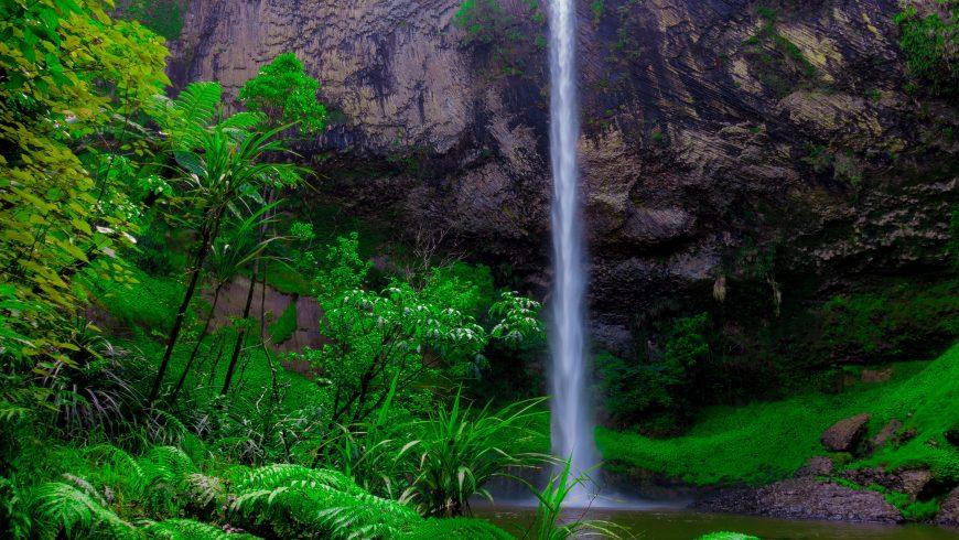 Cascata in natura