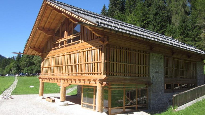 chalet eco-sostenibile in Trentino