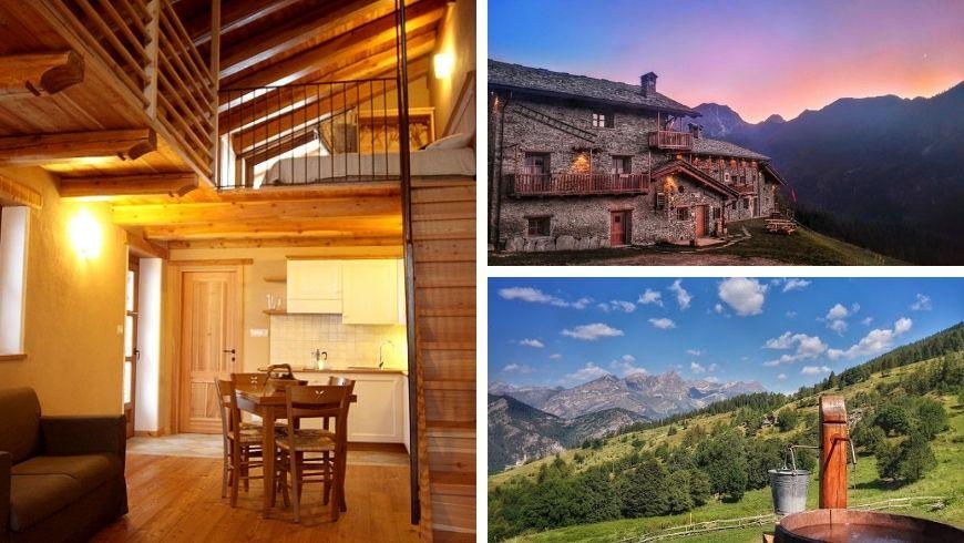 vita e vacanza in un piccolo borgo di montagna in Valle Maira