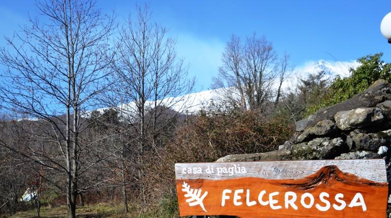 Insegna casa di paglia Felcerossa