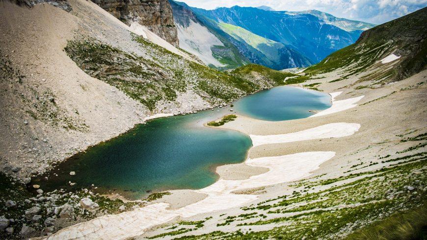 Lago di Pilato tra i monti Sibillini