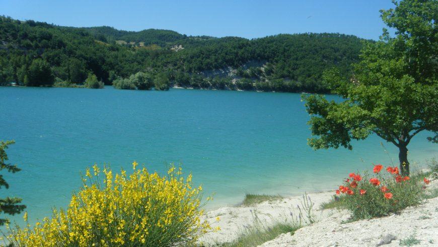 Lago di Fiastra d'estate