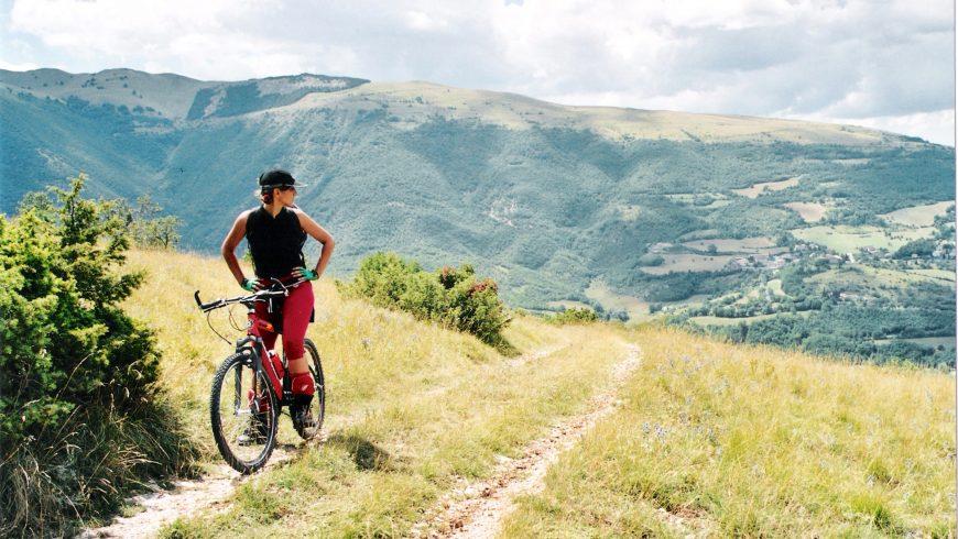 Escursione in mountain bike nei monti Sibillini