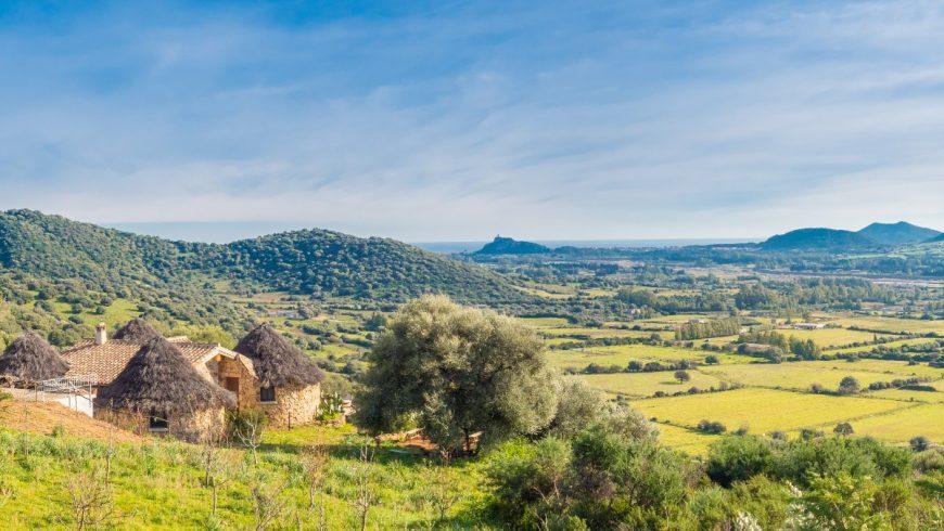 Panorama del Parco Naturale di Tepilora