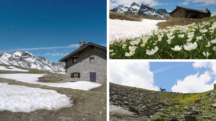vivere in montagna, un rifugio vicino a cogne