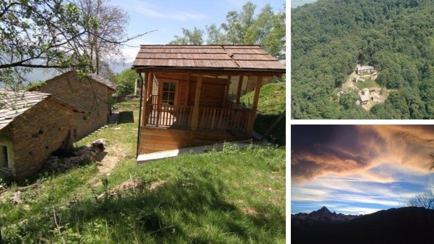 case selvatiche vivere in montagna