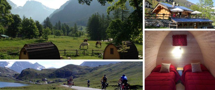 Eco-Campeggio Casa Bianca nella Perla Alpine di Ceresole Reale