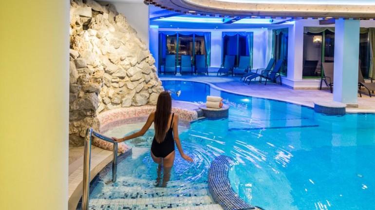 Un'ampia scelta di trattamenti al Tevini Dolomites charming hotel