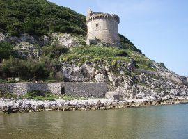 Torre Paola sul promontorio del Circeo