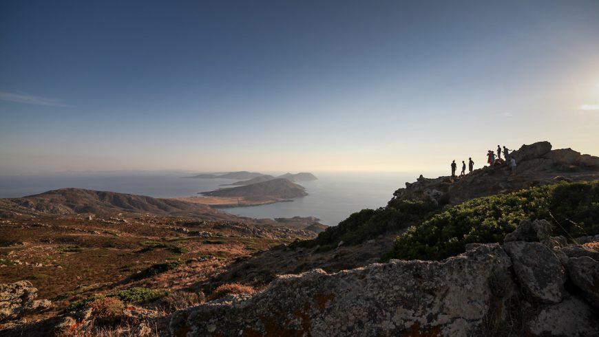 Vista dell'isola da punta della Scomunica
