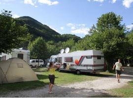 Piazzola per i camper al campeggio Koren