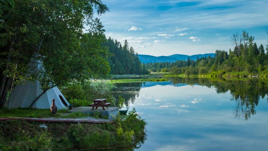 I 3 luoghi migliori per l'Eco-glamping in Croazia
