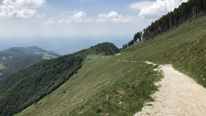 Sentiero sul Monte Generoso