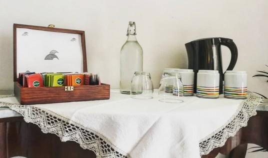 Tea corner senza plastica
