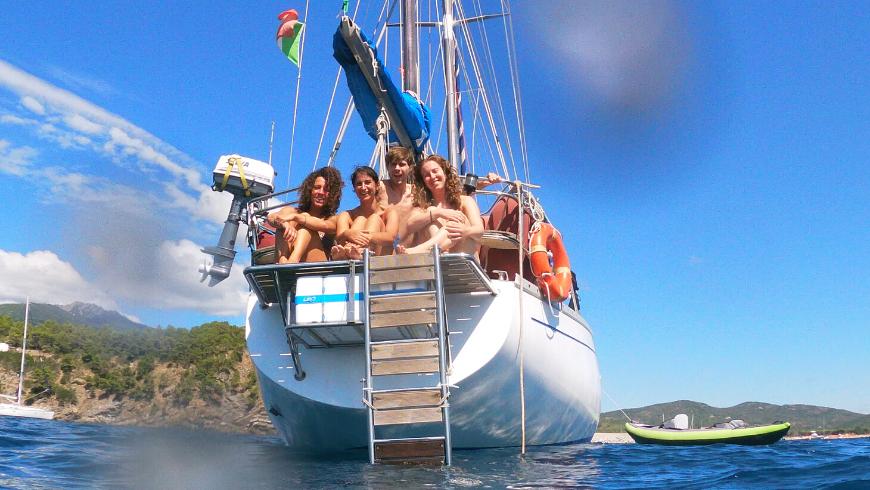 In barca, l'equipaggio diventa la tua nuova famiglia