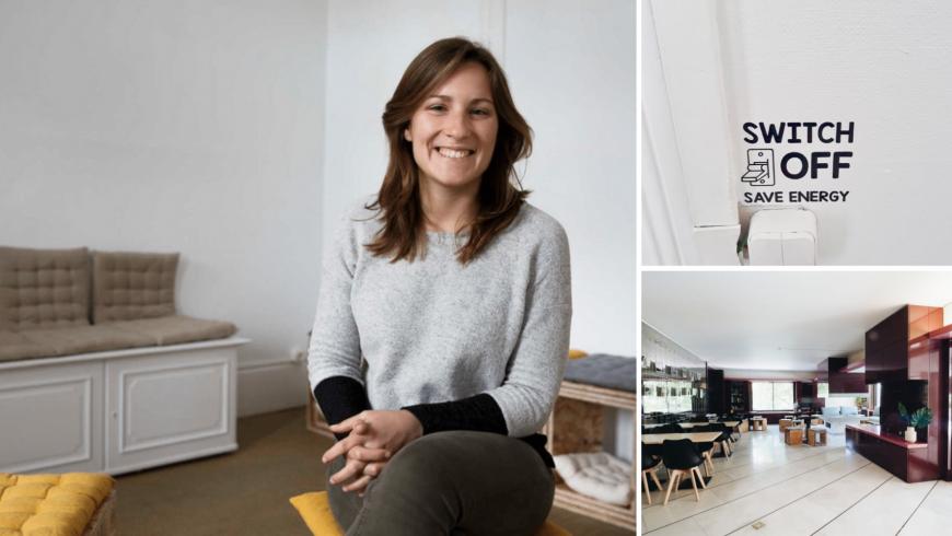 Rita, Eco-host e fondatrice di Impact House in Portogallo