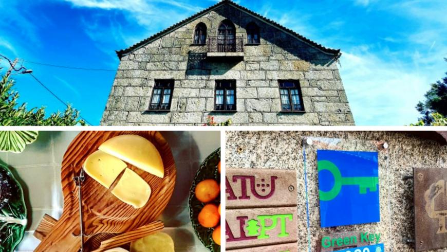 Casa do Fundo, eco hotel in Portogallo