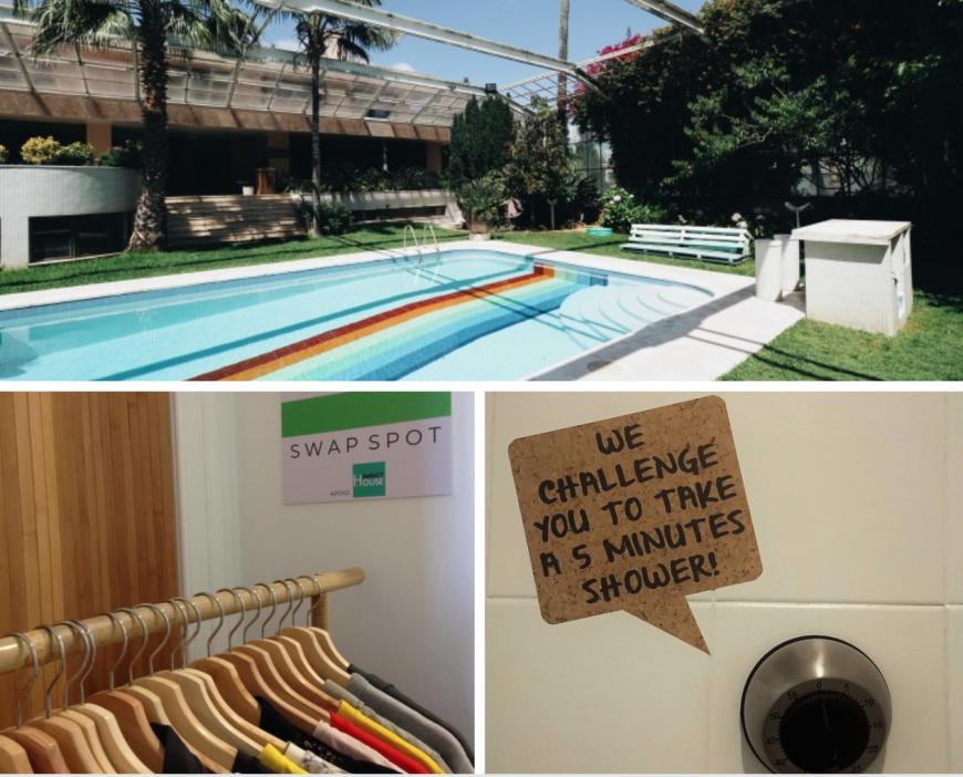 Impact House, eco hotel in Portogallo