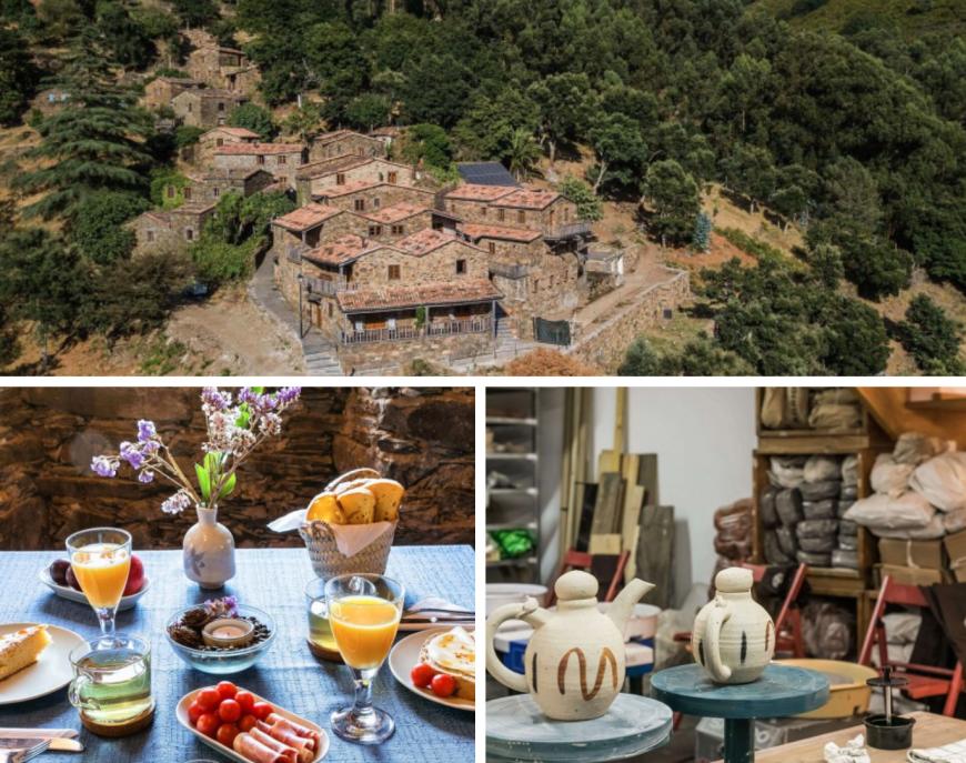 Cerdeira - Home for Creativity, eco hotel in Portogallo