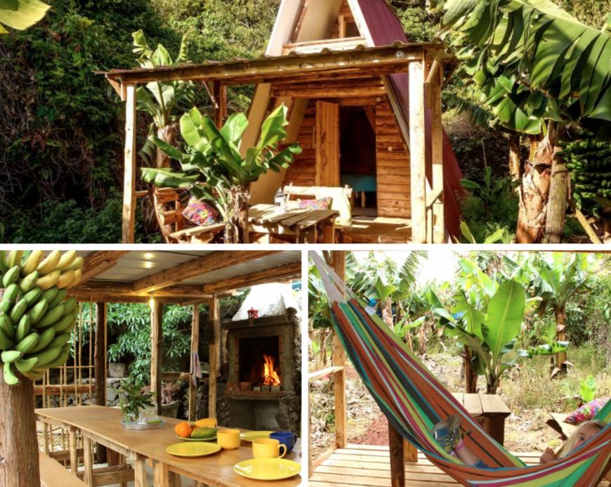Banana Eco Camp, eco hotel in Portogallo