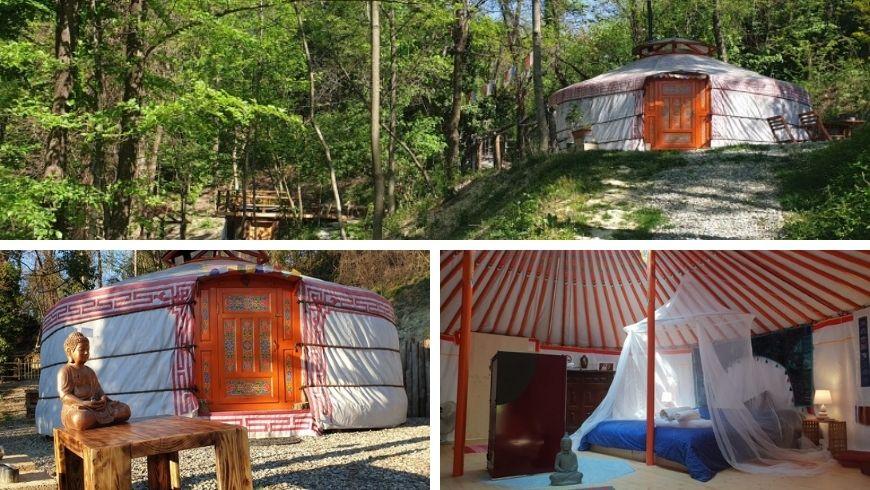 Yurte Soul Shelter, ritiro in una tenda mongola nelle colline torinesi