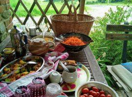 pranzo all'aperto