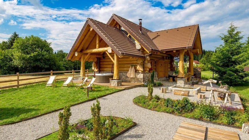 Divjake Log Home Eco Chalet in Croazia