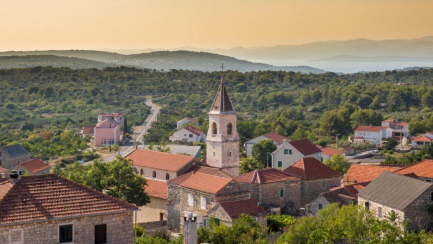 solta Gornje Selo, villaggio