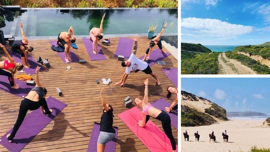 yoga e itinerari lenti vicino a Villa Epicurea