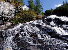 cascata a Mallnitz