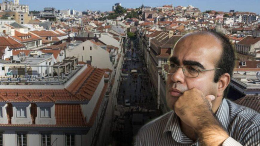 Luis Mendes, l'esLuis Mendes, il geografo esperto di gentrificazione e touristificazione. Andare oltre la Città Interna. Foto di jornaltornado.pt