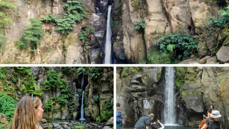 Salto do Cabrito, una delle 10 Cascate imperdibili delle Azzorre. Foto di Worldwanderista.com, Iberactive.com e Wikimedia.org