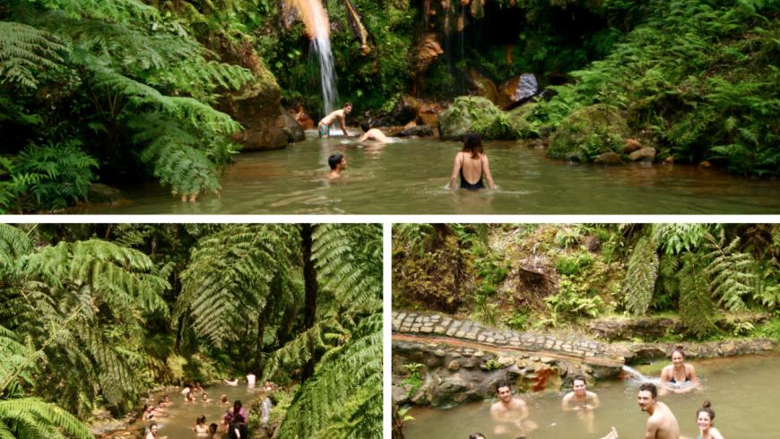 Cascata Caldeira Velha, una delle 10 Cascate imperdibili delle Azzorre. Foto di Flora Del Debbio
