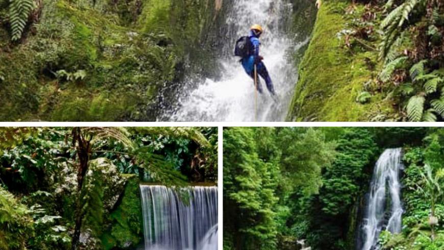 Cascata di Ribeira dos Caldeirões, una delle 10 Cascate imperdibili delle Azzorre. Foto di TripAdvisor.com, ribeiradoscaldeiroes.com e visitazores.com