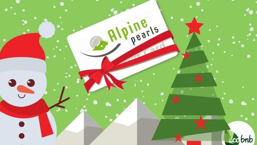 regali di natale per eco-viaggiatori: Gift Card Perle Alpine!