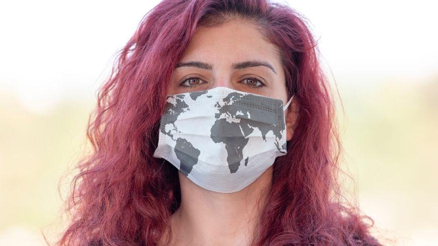 mascherina per chi ama viaggiare