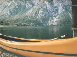 sul lago di Bohinj, Slovenia