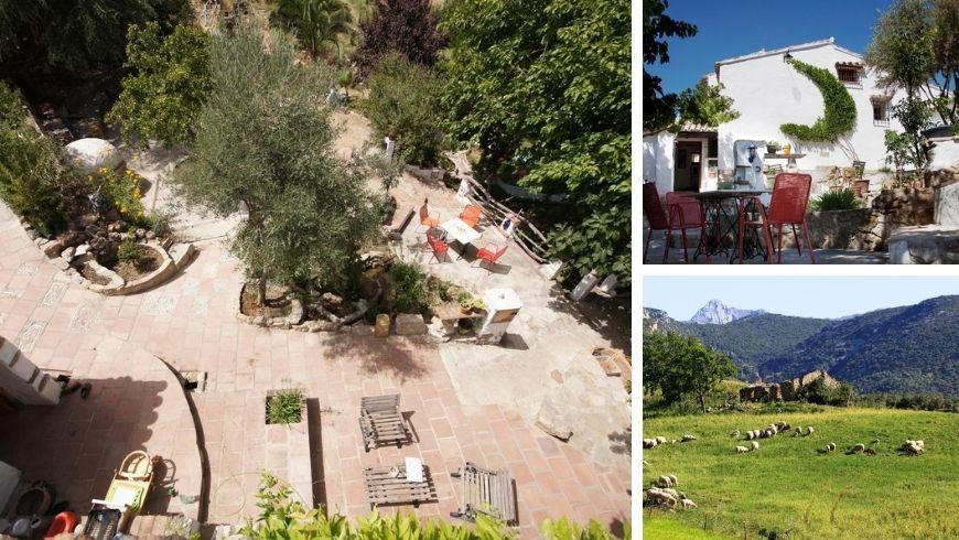 Agriturismo Huerta Cinco Lunas. Una delle 10 case immerse nella natura