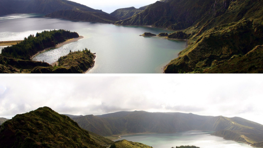 Lagoa do Fogo, miraduro Azzorre