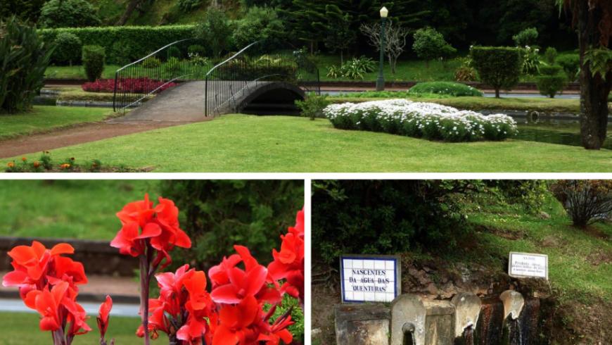 Jardim das Quenturas. Parco Naturale.