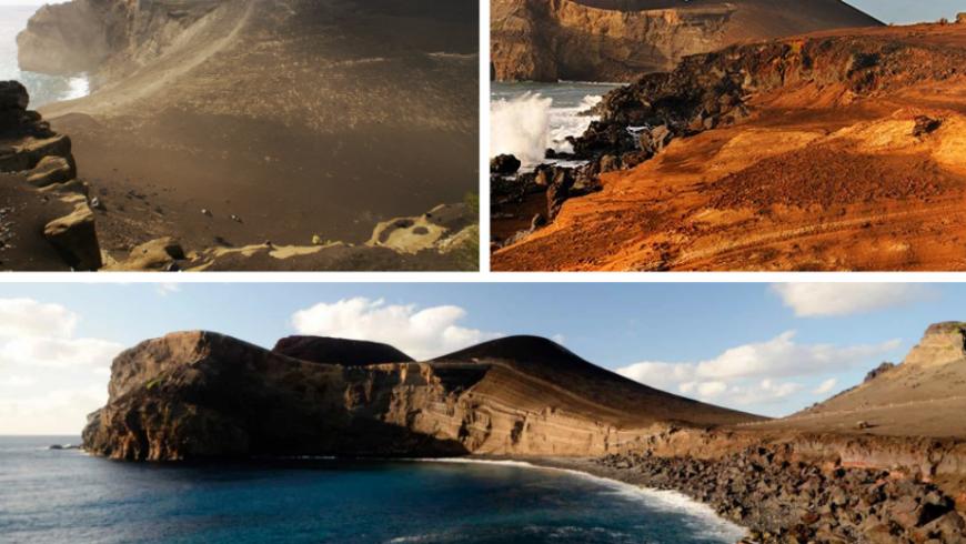 Vulcão dos Capelinhos. Parco Naturale