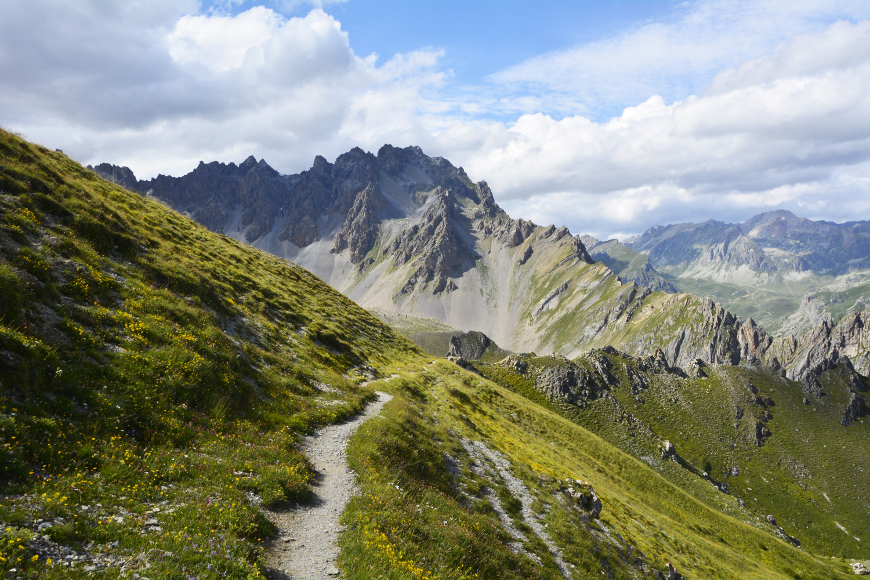 Sentieri Occitani in Valle Maira, percorso Frassati
