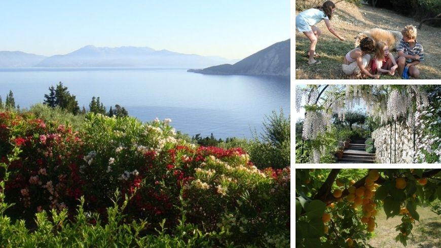 vacanza contadina in grecia