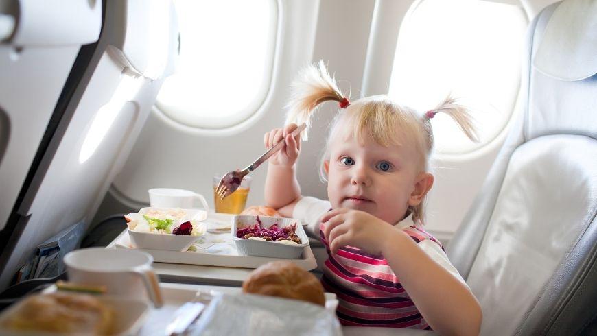 pasto durante il volo
